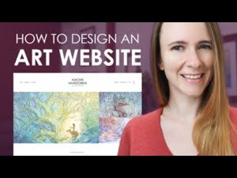 How to Design an ARTIST Portfolio Website