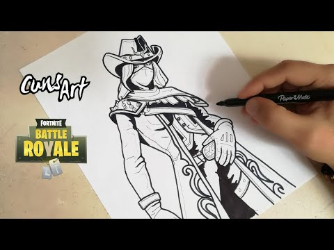 Como Dibujar A Calamidad Fortnite How To Draw Calamity Youtube