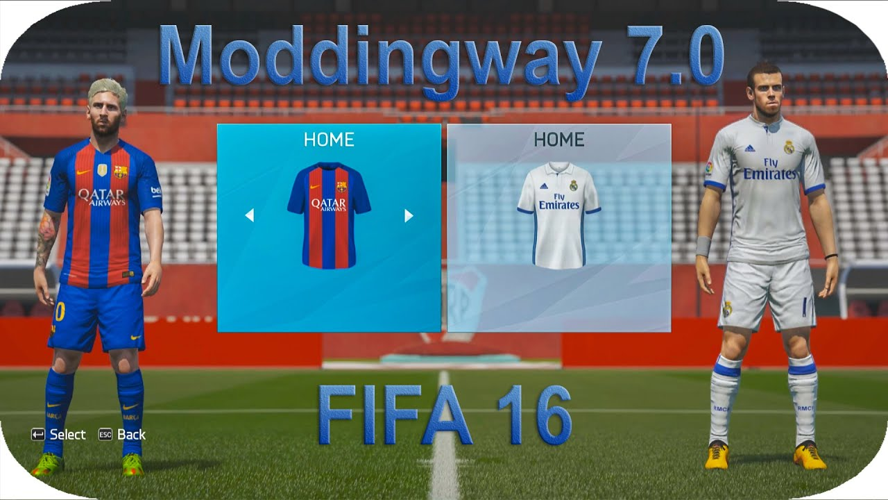 617b44b6d09 FIFA 16 Moddingway 7.0.2 Season 16 17 - YouTube