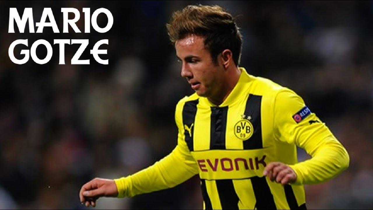 Mario Götze Goals Skills & Passes 2012 13