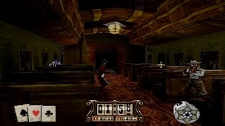 Gunfighter: The Legend of Jesse James Complete Gameplay(PlayStation,PSX,PS1)