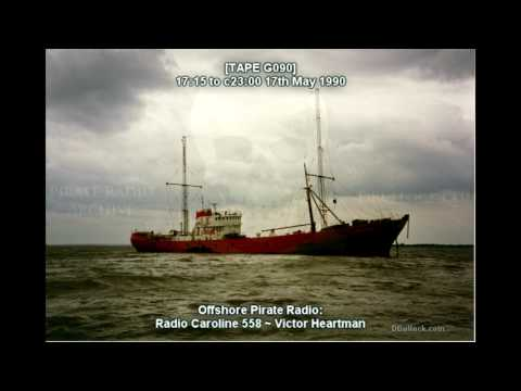 [G090] Caroline 558 ~17/05/1990 ~ Offshore Pirate Radio