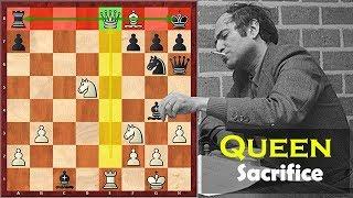 Mikhail Tal vs Sejer Holm Petersen EUR-chT (Men) 4th (1970), Kapfen...
