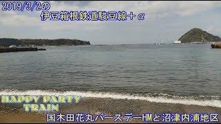 2019/3/2の伊豆箱根鉄道駿豆線+沼津内浦地区訪問  IzuHakone railway+Numazu Uchiura