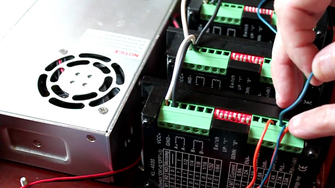 cnc wiring harnes [ 1280 x 720 Pixel ]