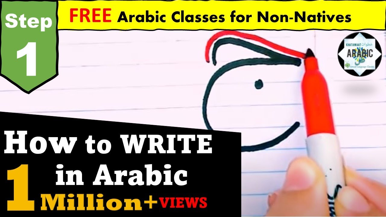 STEP 23 - Arabic Alphabet - Part 23- HOW TO WRITE- Arabic for Beginners -