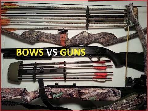 Archery VS Guns for SHTF/ Bug Out Bag