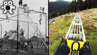 Top 10 Extreme Kids Playgrounds You'd Be Too Scared To Play At