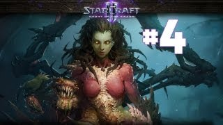 StarCraft 2 - Ледяное Безмолвие - Часть 4 - Ветеран - Прохождение Кампании Heart of the Swarm