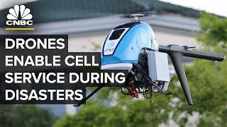 AT&T And Verizon Have Emergency Cell Service Drones | CNBC