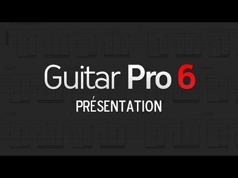 Présentation du logiciel Guitar Pro 6