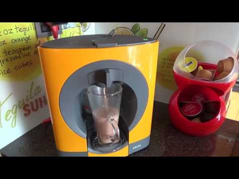 How To Use Nescafe Dolce Gusto Coffee Machine - Tutorial
