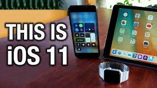 This is iOS 11 and watchOS 4!