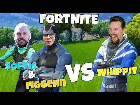 2 mot 1 - SOFTIS & FIGGEHN VS WHIPPIT i FORTNITE *Playground*