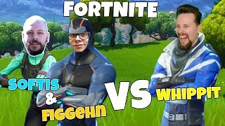 2 mot 1 - SOFTIS & FIGGEHN VS WHIPPIT i FORTNITE *Playground*