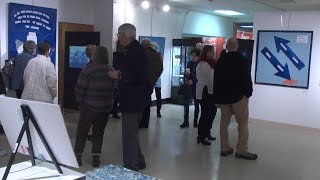 'Winter Blues' sees large turnout for opening reception