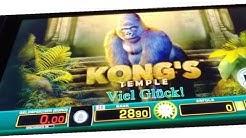 🙉 Kong's Temple 👉 neues MERKUR Spiel am M-Motion | 10 Cent Zocker | Merkur Magie, Spielbank