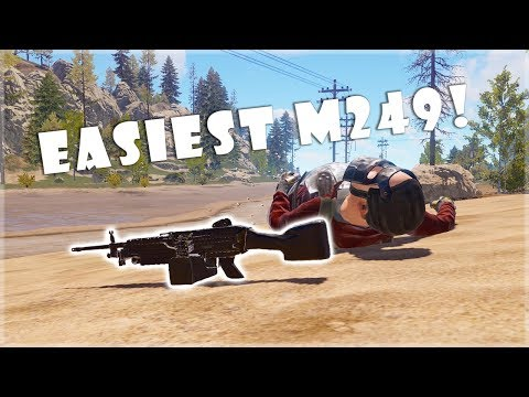 RUST - Easiest M249 of my Life thumbnail