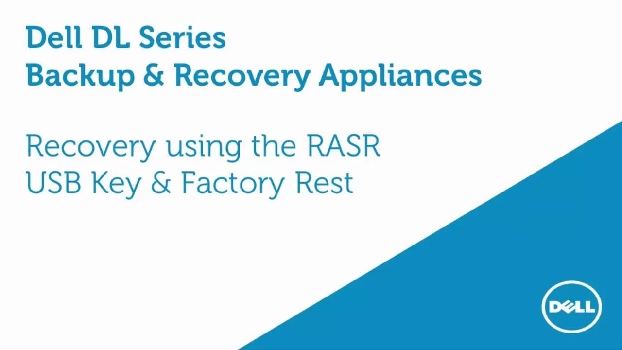 How to use RASR with an USB Key