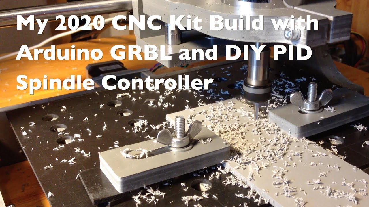 My New 2020 Cnc Machine With Arduino Grbl Controller An