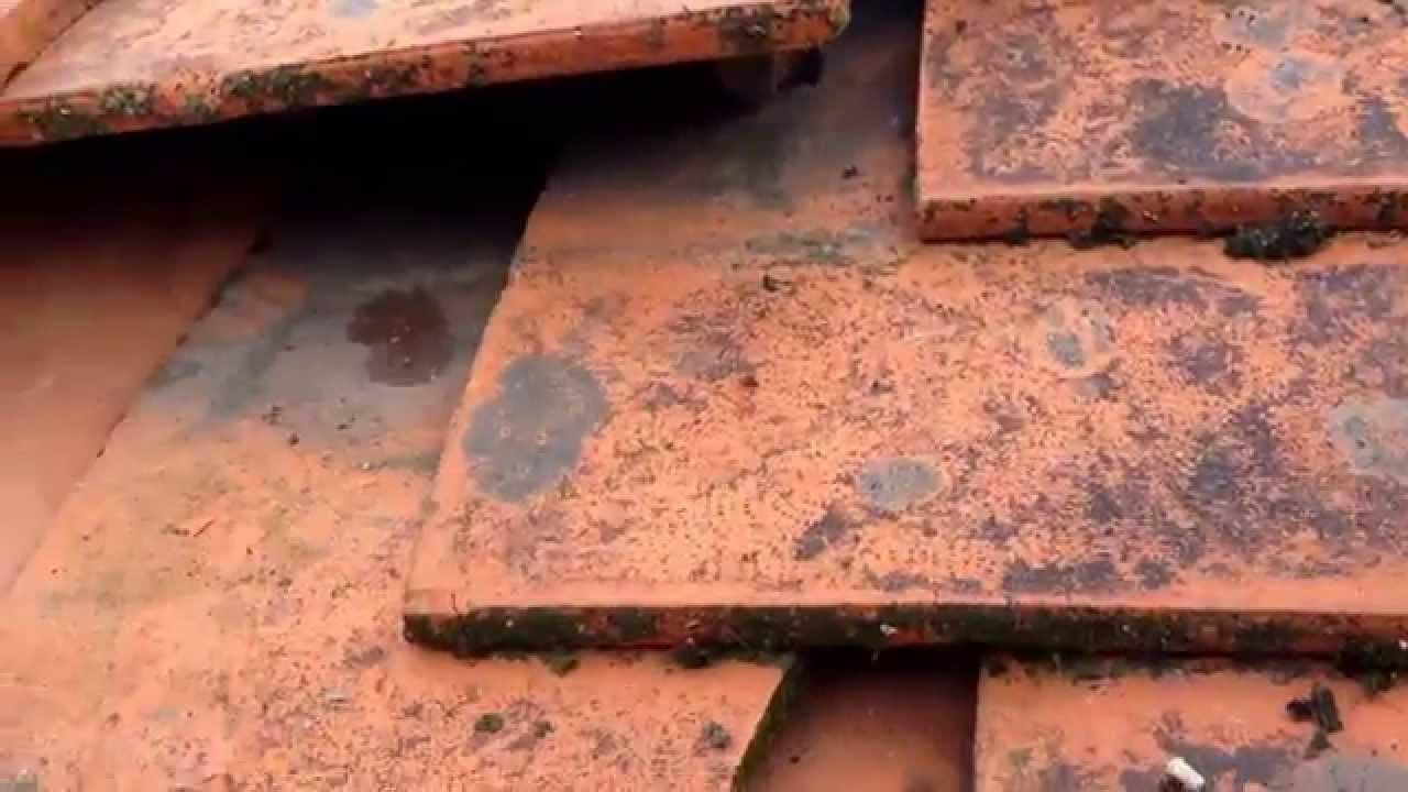 Replacing Broken Roof Tiles For Diy People Part 1 Youtube