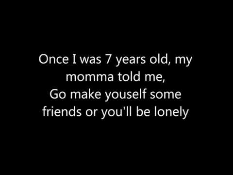 7 Years old Lyrics and Chords - YouTube