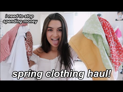 Spring Clothing Haul! (try-on)