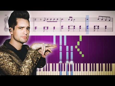 KING OF THE CLOUDS (Panic! At The Disco) - Piano Tutorial + SHEETS