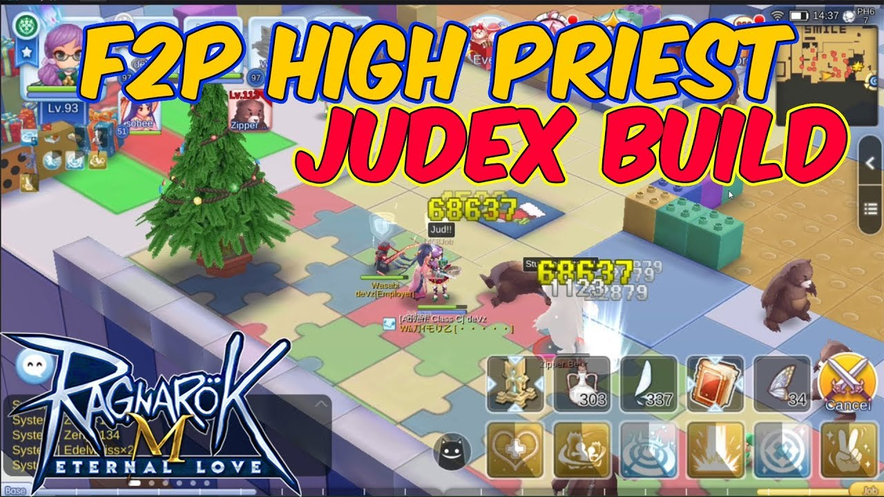 F2P High Priest Judex Build / Stat / Runes | Ragnarok Mobile Eternal Love