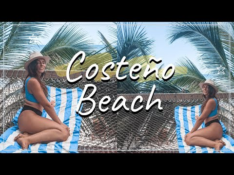 24 HOURS ON COSTEÑO BEACH 🌴🇨🇴Backpacking Colombia