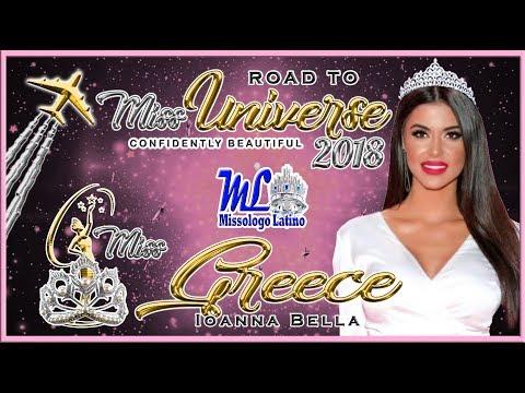 Miss Universe Greece 2018 – Ioanna Bella – Road To MU 2018