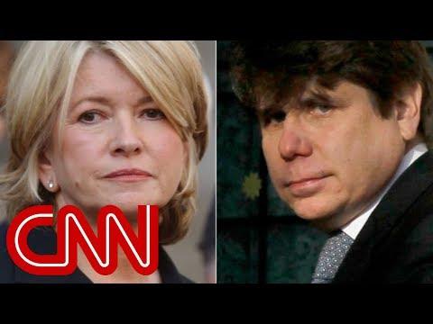 Trump considering pardon for Martha Stewart