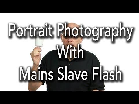 Portrait Photography Tutorial Using Slave Flash