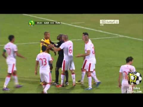 Tunisie v Gabon 1st Highlights Kooora com