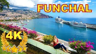 FUNCHAL - MADEIRA 4K BEAUTIFUL CITY