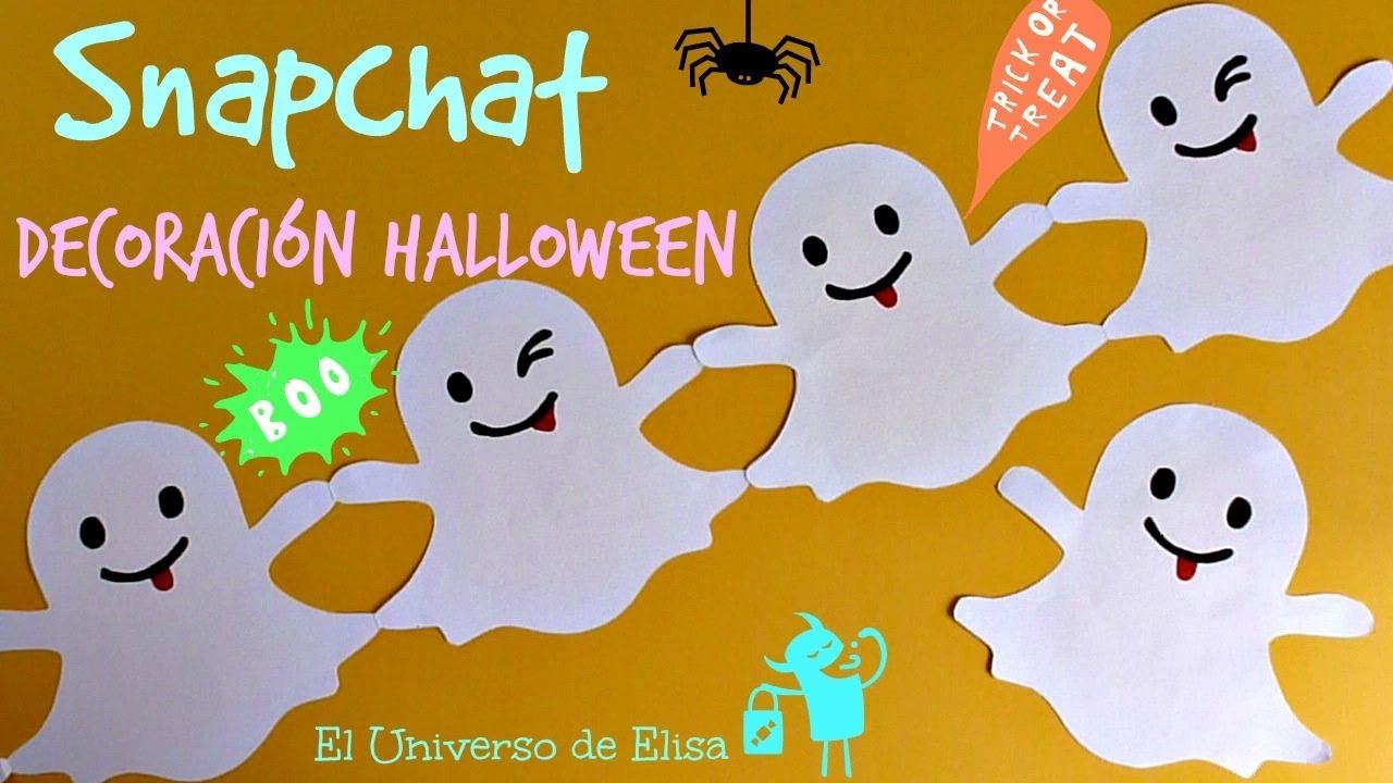 Guirnalda Snapchat Decoración Halloween Día De Los Muertos Decora Tu Habitación O Tu Cuarto Youtube