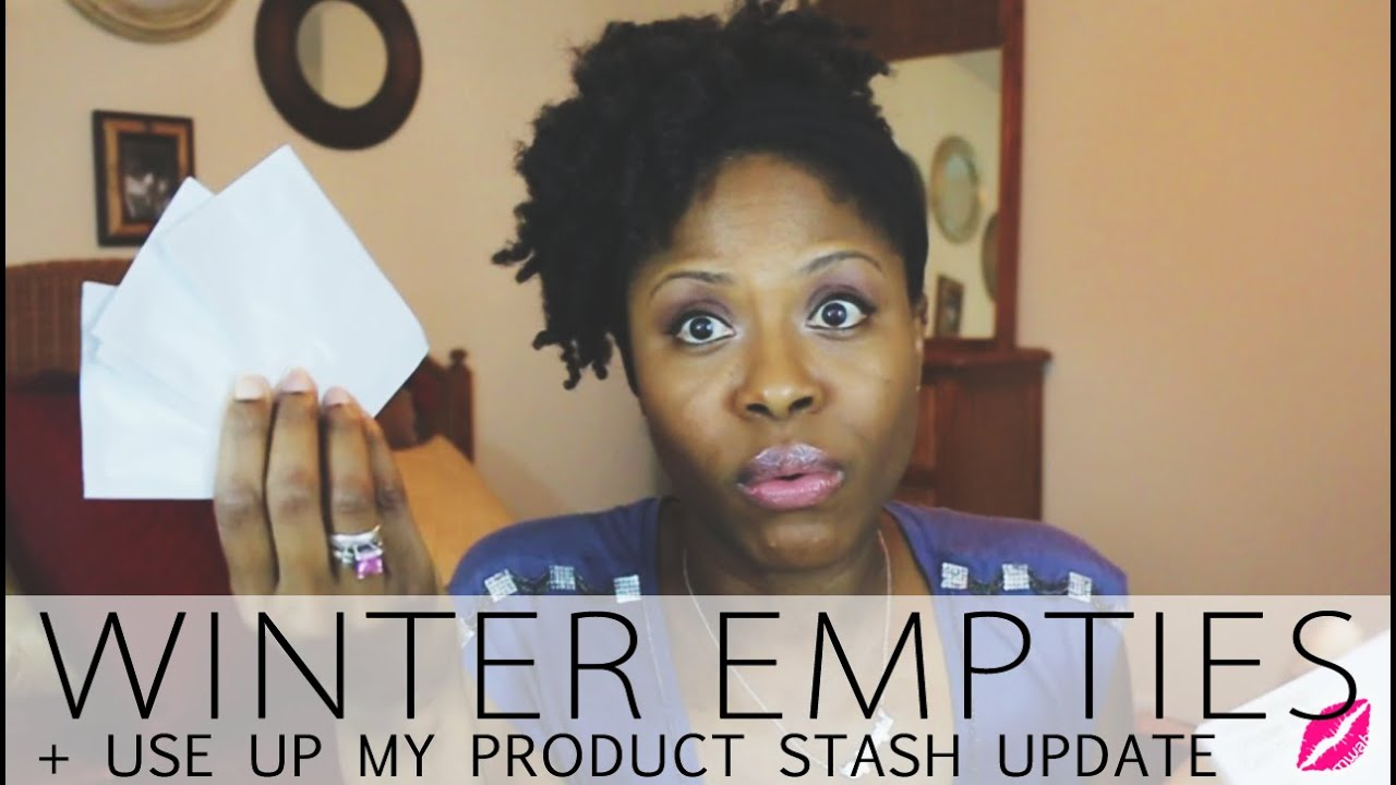 Winter Empties + Use Up Your Product Stash Update - Glamazini - Winter ended in March & I'm here with my Winter Use Up My Stash update Empties style. Enjoy!
