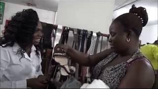 Entretien avec Mme Francine, cliente habituelle de la boutique HPP-Congo du Carrefour UPN