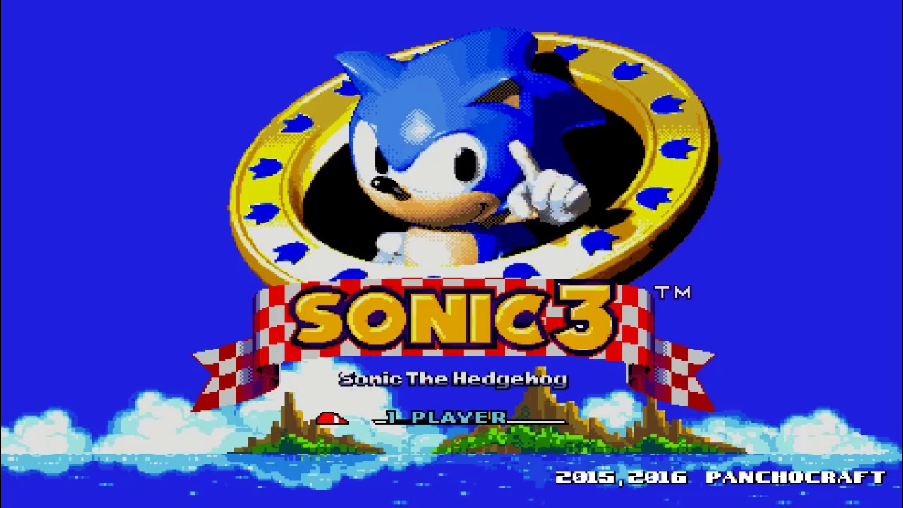 sonic the hedgehog 3 exe game