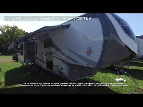 Highland Ridge-Open Range 3X 5th Wheel-3X397FBS streaming vf