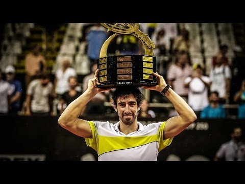 Highlights: Cuevas Beats Ramos-Vinolas For Sao Paulo 2017 Title
