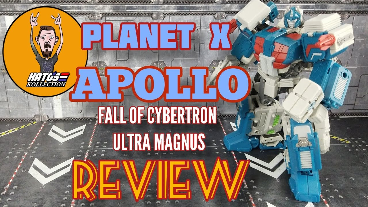 Planet X APOLLO (Fall of Cybertron Ultra Magnus) Review by Kato's Kollection