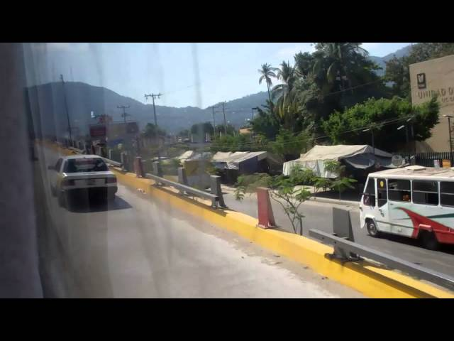 Bus Trip to Acapulco Part 2: Chilpancingo to Acapulco Travel Video