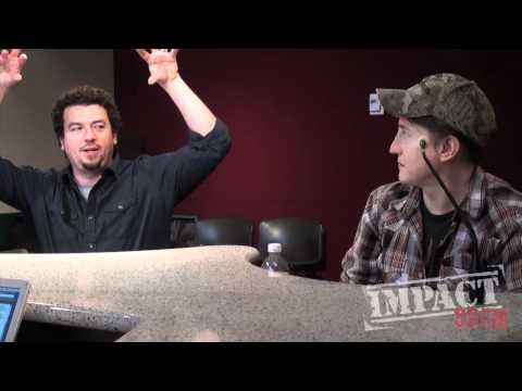 Danny McBride and David Gordon Green  Live at the Impact