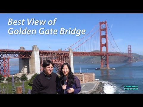 Best View of Golden Gate Bridge