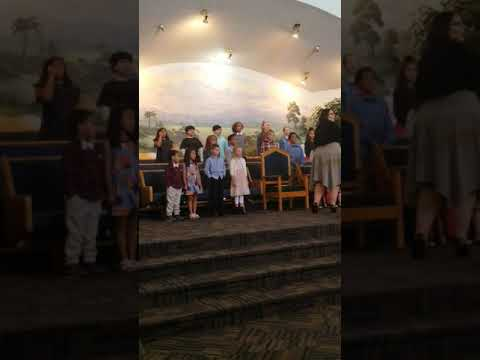 Riverview Christian Academy singing for our Veterans and Troops (11/09/2019)