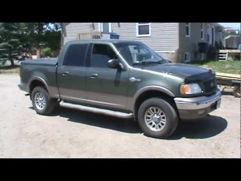 2002 ford f150 king ranch 4x4 youtube. Black Bedroom Furniture Sets. Home Design Ideas