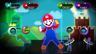 Mario™ Dance on Just Dance 3 for Wii