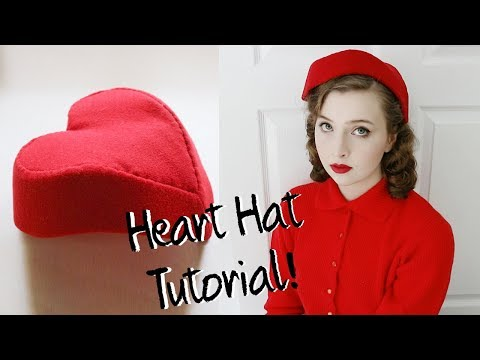 Heart Shaped Hat Tutorial!
