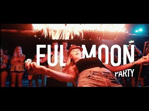 Full Moon Party in Koh Phangan (Cinematic video)
